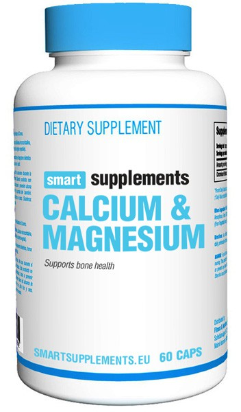 SMART SUPPLEMENTS CALCIO MAGNESIO 60 CAPS 634949206775