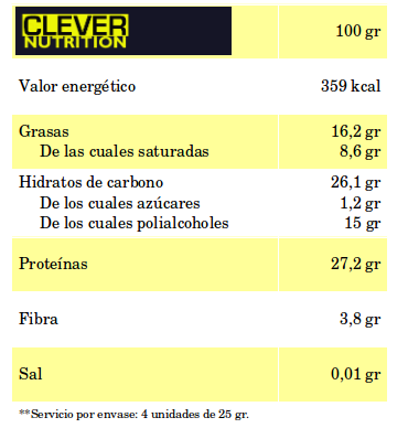 valor nutricional blackmax total choc en clever nutrition max protein